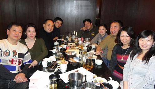 上海支部新年会が行われました