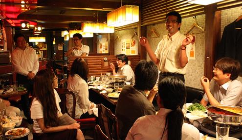 神戸支部交流会「神戸夜会」が行われました