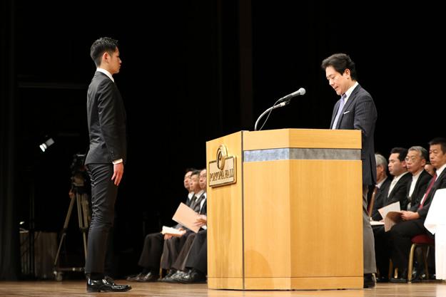 卒業式(1)