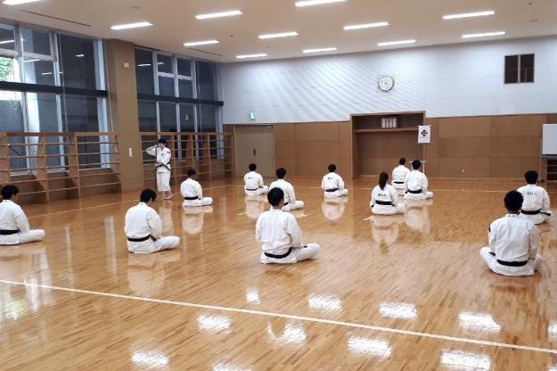 少林寺拳法部 写真(2)