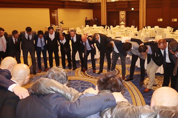 男子バスケットボール部OB会 創部30周年記念パーティー 写真6